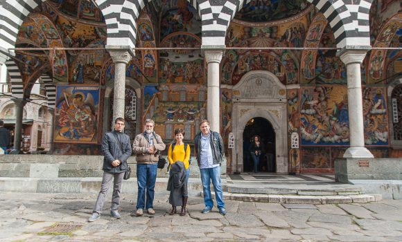 Advanced Academia trip to the Rila Monastery and Stob pyramids 2014